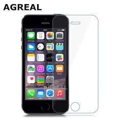 0.3mm 2.5D Tempered Glass protective Film For iPhone 5s