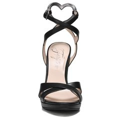 Fergie Women's Naima Dress Sandals (Black Leather)