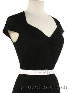 50's Vintage Style Retro Pinup Wiggle Dress....