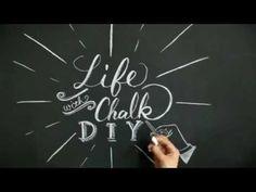 カフェ風のコツは「文字」にあり♪黒板をおしゃれに彩るチョークレタリング術 | キナリノ