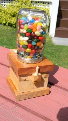http://m.instructables.com/id/The-Awesomest-Jelly-Bean-Dispenser-Ever/