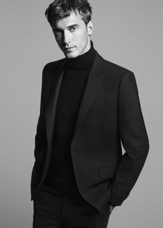 Fall Winter 2015: Modern wool suiting, leather and technical fabrics emphasize the versatility and rich depth of the collections.  Clement Chabernaud shot by David Sims.