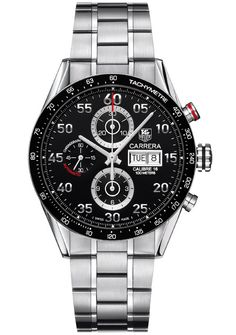 Tag Heuer Carrera Calibre 16. Re-Pinned Via Fireman's Finds http://stores.ebay.com/Firemans-Finds