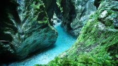 Soca Valley Slovenia - Tolminka Gorge in Tolmin