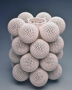 ceramic art by Tony Marsh #3dPrintedShapes