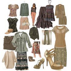 Soft Autumn Fashion by mpsakatrixie Soft Autumn Deep, Warm Autumn, Autumn Rose, Capsule Outfits, Capsule Wardrobe, Fall Outfits, Colour Combinations Fashion, Fashion Colours, Color Combos