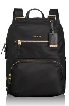 Free shipping and returns on Tumi 'Voyageur Halle' Nylon Backpack at Nordstrom.com. Streamlined, sophisticated and lightweight, this versatile backpack—complete with a padded laptop compartment—will keep you ready for work, weekend or travel adventures at a moment's notice. Multiple pockets make organization effortless and sleek leather trim upgrades the look for polished, all-season style.