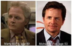 """And what Marty actually looks like in 2015. 