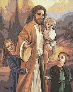"Jesus ""Suffer Not the little children to come unto Me"""