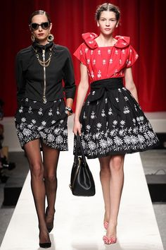 moschino #30anni #fashion #MFW