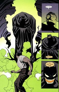 Batman Ego_Darwyn Cooke Art