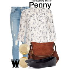 Inspired by Kaley Cuoco-Sweeting as Penny on The Big Bang Theory