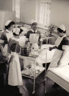 Nurse training. Gallery | Whittingham Hospital.