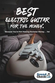 Plan to build a career in music? Here is our guide on the best electric guitar you need to build a career and earn some money. Best Acoustic Electric Guitar, Cheap Electric Guitar, Beginner Electric Guitar, Custom Electric Guitars, Guitar Tabs Songs, Music Guitar, Electric Sitar, Build Your Own Guitar, Dean Guitars