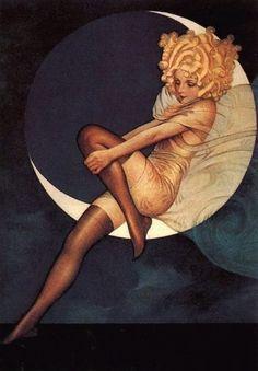 Blue Moon Stocking Ad, 1927