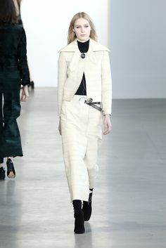 Calvin Klein Collection at New York Fashion Week Fall 2015