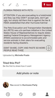 Hurricane Party, Hurricane Katrina, Hotel Motel