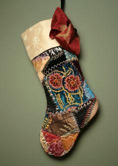 Velvet Crazy Quilt | Elegant Antique Silk and Velvet Victorian Crazy Quilt Christmas ...