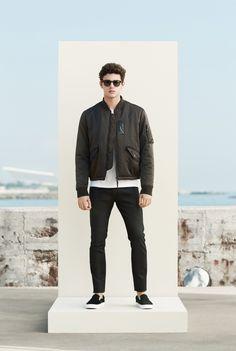 Mango Man S/S15 Menswear Lookbook bomber jacket zara menswear mensfashion lookbook style collection mango spring summer 2015