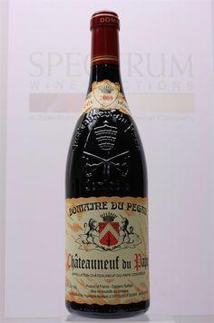 Domaine Du Pegau 2009  Chateauneuf Du Pape  I am waiting 30 years to drink mine.
