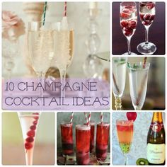 last minute champagne cocktail ideas Champagne Cocktail, Cocktail Drinks, Alcoholic Drinks, Cocktails, Cocktail Ideas, Party Drinks, Party Party, Party Ideas, Grown Up Parties