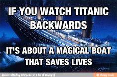 Titanic backwards / iFunny :)