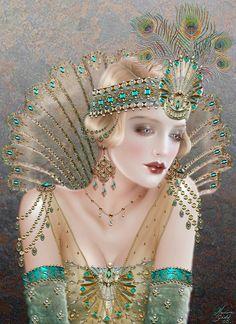 Aurelia by Maxine Gadd ~•º•~>¡<•º•>!<•º•>¡<~•º•~