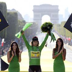 Peter Sagan wins the green jersey Tour de France 2016 @bettiniphoto