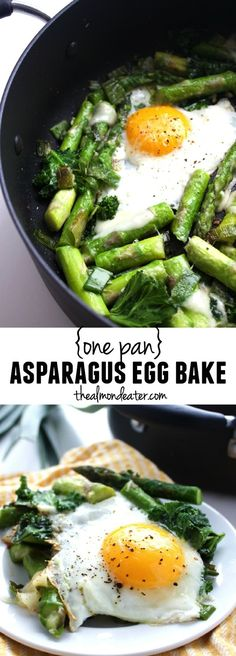One pan and 7 ingredients! A great way to eat your veggies first thing in the morning!