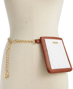MICHAEL Michael Kors Quilted Belt Bag with Chain Strap