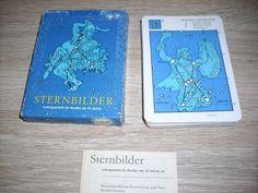 Sternbilder Lehrquartett unbenutzt Karten Altenburg Spielkarten OVP DDR