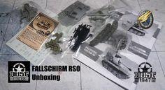 Unboxing - Dust Studio FALLSCHIRM RSO x 3 #dust1947 #duststudio #dustbrothers #axis #rso
