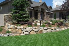Landscaping Ideas Front Yard Retaining Walls