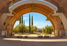 Arizona- Arcosanti is an urban laboratory focused on innovative design, community, and environmental accountability. Our goal is to actively pursue lean alternatives to urban sprawl based on Paolo Soleri's theory of compact city design, Arcology (architecture + ecology).