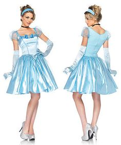 Sexy Disney Princess Womens Classic Cinderella Costume Cinderella Halloween Costume, Disney Princess Costumes, Disney Costumes, Disney Princesses, Adult Costumes, Costumes For Work, Cute Costumes, Costume Ideas, Girly Outfits