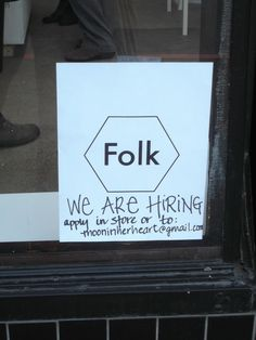 Folk is a new women's clothing store located at 803 Fort Street. This photo was taken October 15, 2015.