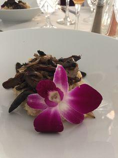 Mushroom risotto at