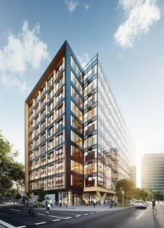 Bates Smart Unveils Plans for Tallest Engineered Timber Building in Australia | ArchDaily