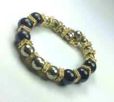 The Power of BLING Pyrite /Crystals/Galaxy by CatchyTreasures