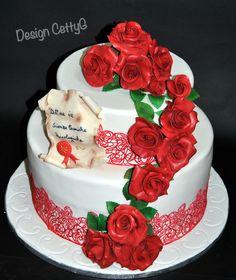 Le torte decorate di CettyG...: Laurea cake...
