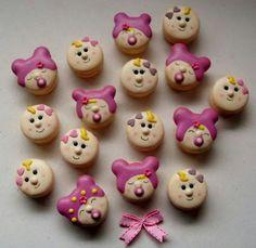 Macarons bébés /  Baby macarons