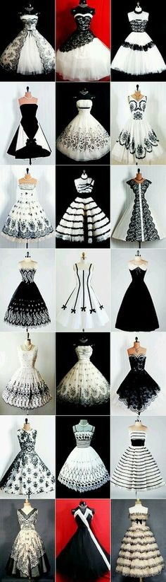 50s dresses ❤❤ Could be good for Prom.