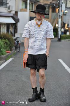 FASHION JAPAN: Aran Yoshioka (Harajuku,Tokyo,Bollman Hat Company,Juun.j,Mawi,Julius)