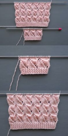 Discover thousands of images about Best Beautiful Easy Knitting Patterns - Knittting Crochet - Knittting Crochet Easy Sweater Knitting Patterns, Easy Knitting, Knitting For Beginners, Knitting Designs, Knitting Stitches, Diy Crafts Knitting, Knitting Projects, Stitch Patterns, Crochet Patterns