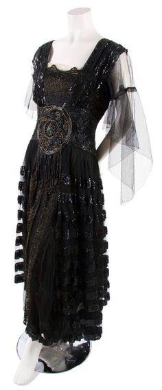 Vintage Dress, 1920s.
