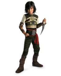 Disney Costume Kids Deluxe Prince of Persia Dastan Costume Armor-Like TopBrown Poly-Foam GauntletsDetachable Chest EmblemBelt w/SashBelt BucklePantsBoot CoversJump into the Sands of Time - Disney Characters Costumes, Character Costumes, Movie Characters, Unique Costumes, Boy Costumes, Halloween Costumes, Party Costumes, Children Costumes, Costume Ideas