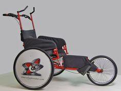 Adaptive Star Axiom Racer, (Marathon duwrolstoel, Marathon Push Wheelchair) duwrolstoel voor mensen met ernstige vaak meervoudige handicaps die niet zelfstandig een wheeler (race rolstoel) voort kunnen bewegen en toch graag met hun vrienden of familie mee willen doen aan hardloop evenementen>>> See it. Believe it. Do it. Watch thousands of spinal cord injury videos at SPINALpedia.com