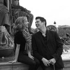 Real life married couple David and Sarah Joy Miller will play lovers in La Traviata at @palmbeachopera