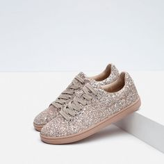 Image 4 of SPARKLE SNEAKERS from Zara