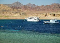 Try Ras Mohamed boat trip and go for snorkeling there in the pure crystal water where you can see the colored fish and the coral reefs.
